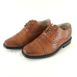Joseph Allen Toddler Boys Oxford Dress Shoes Lace Up Faux Le