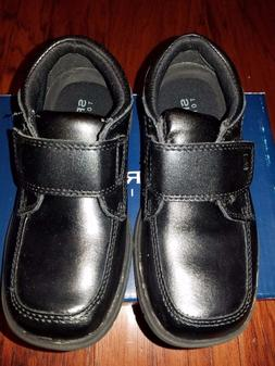 Toddler Boys Sperry's New Size 9 Black All Leather Dress Sho