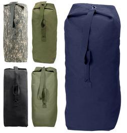 Top Load Duffle Bag  Heavyweight Canvas Military Rothco