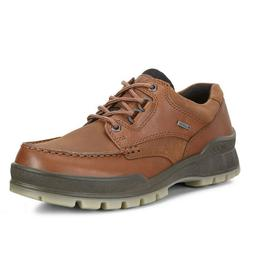 Ecco TRACK 25 LOW Lace Up Bison Leather Waterproof Gore Tex