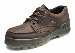 Ecco TRACK II LOW Lace Up Bison Leather Waterproof Gore Tex