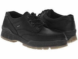 Ecco TRACK II LOW Lace Up Black Leather Waterproof Gore Tex