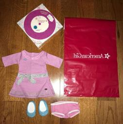 """American Girl TRULY ME LILAC DRESS for 18"""" Doll Shoes Meet O"""