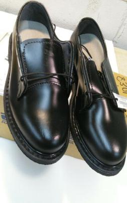 US NAVY WOMEN'S CAPPS BLACK LEATHER OXFORD DRESS SHOES 90100