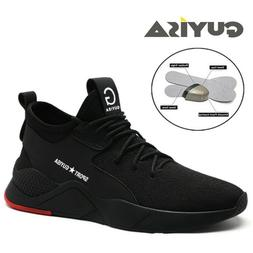 US5-11 Women Sneakers Steel Toe Cap Safety Shoes Work Hiking