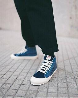 Vans Vault OG Style 138 LX Skate Shoes Size 10.5 Blue Mirage