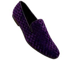 Amali Men's Velvet Rhinestone or Studded Smoking Slipper Loa