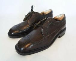 Vintage Weinbrenner Thorogood Brogue Oxford Dress Shoes Dark