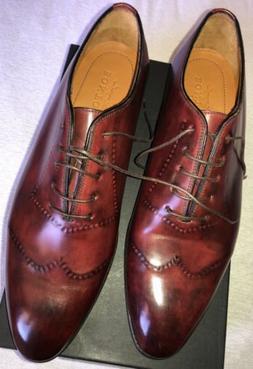 Bontoni Vittorio II oxford Shoes NIB NEW 46 12 Or 12.5 Marke