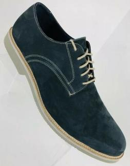 WALLIN & BROS Mens BLUE SUEDE Oxfords Casual Dress Shoes sz