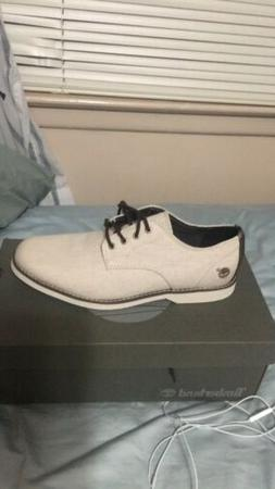 White Timberland Dress Shoes
