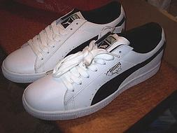 White Leather Shoes Puma Shoes Mens 9.5 Puma Shoes Walking D