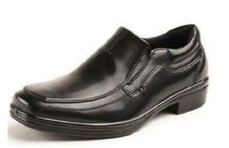 wise black kids dress shoes slip on