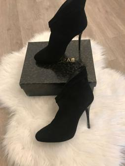 Women Dress Shoes Boots Basconi Black Side  Size: 39  $180