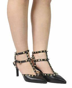 women rockstar low dress stilettos pointed toe