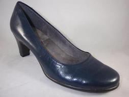 Women's A2 AEROSOLES REDWOOD Navy Blue Pumps Heels Casual Of
