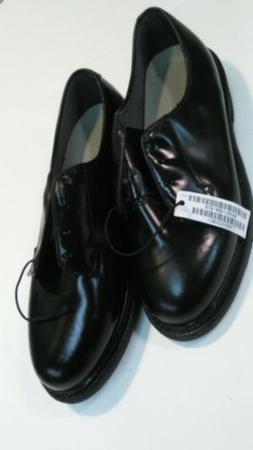 WOMEN'S CAPPS BLACK LEATHER OXFORD DRESS SHOES 90100/80 SIZE