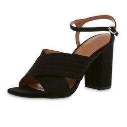 Attention Women's Black Maddie 2 Dress Sandal Shoes Size 11