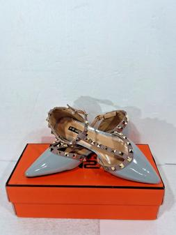HMSZ Women's Dress Shoes Grey Size 7.5 US