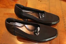 RASOLLI Women's Dress Shoes With Comfort Flex Soles Black Si