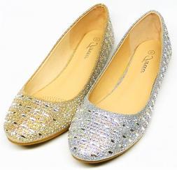 Women's Fashion Dress Ballet Flat Shoes size 7, 7.5, 8, 8.5,