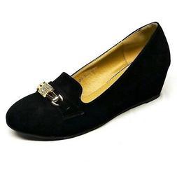 Women's Fashion Wedge Dress Shoes Size 5, 5.5, 6, 6.5, 7, 7.