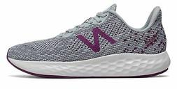 New Balance Women's Fresh Foam Rise v2 Shoes Grey with Purpl