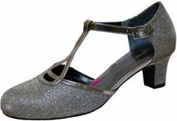 Ros Hommerson Women's Heidi Dress Shoes SILVER IRIDESCENT GL
