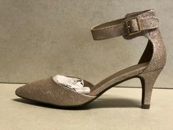 DREAM PAIRS Women's Lowpointed Low Heel Dress Pump Shoes Siz