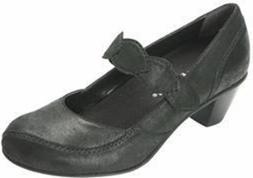 Drew Women's Monaco Dress Shoes Dusty Black Leather