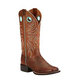 Ariat Women's Round Up Ryder Western Cowboy Boot, Sassy Brow