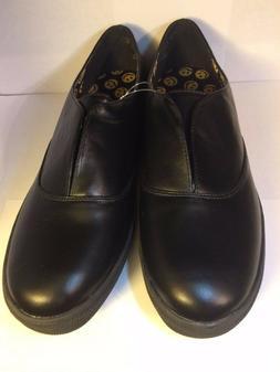 Women's Size 11 Joe Boxer Black Casual Closed Toe Dress Shoe