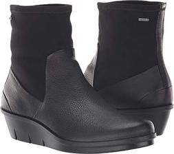 ECCO Women's Skyler Gore-TEX Ankle Boot, Black/Black Stretch