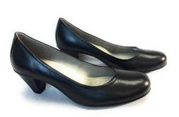 ECCO Women's Touch 50 Dress Pump Footwear Black Leather Shoe