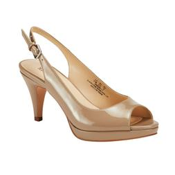 Women's Wedding/Party Shoes Mid/Low Heel Round Peep Toe Pump