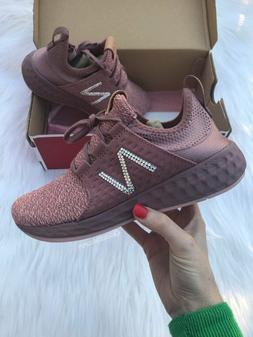 Women New Balance Shoes Customized with Swarovski Crystals S