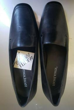 WOMENS Dress Shoes SIZE 9 W  HighLights Brand BLACK COLOR  H