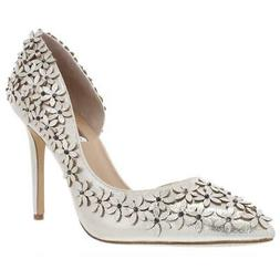 INC Womens Karlay Floral Special Occasion Dress Heels Evenin