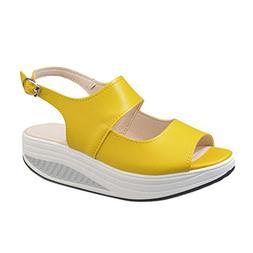 Womens Platform Sandals,Summer Casual Shake Thick Bottom Hee