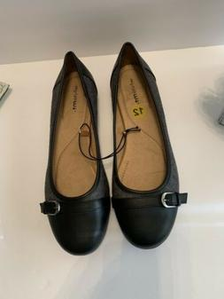Women's Whitemt. Shoes Size 12m. Black And Gray. NWT