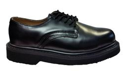 Work Shoes Style 501 Genuine Leather Color Black For Boy's,W