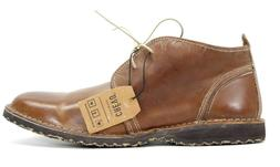 Crevo x Buckle Mens Laxon Leather Chukka Mid Top Lace Up Dre